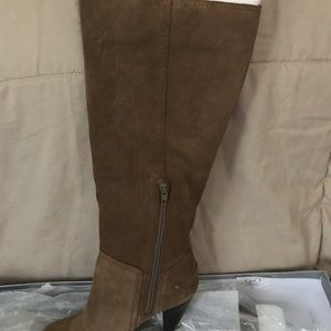 Jessica Simpson suede heeled boot
